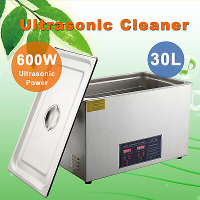 30L Ultrasonic Jewelry Cleaning Cleaner Machine with Heater & Timer, 40kHz mps