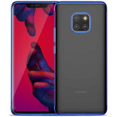 For Huawei Mate 30 Pro Mate 20 Lite P30 P20 Plating Soft Clear Rubber Case Cover