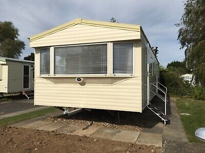 Caravan for rent southview skegness. 3 bed, 8 berth with central heating.
