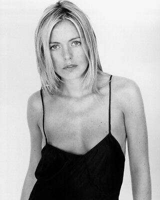 Patsy Kensit Busty B&W Low Cut Black Dress 8X10 Photo Print