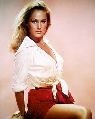 Ursula Andress Color 8X10 Photograph Sexy Pin Up