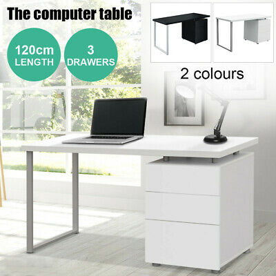 2019 New Office Computer Desk Study Table Home Metal Student Drawer Cabinet