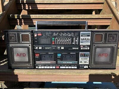 National RX-CW200L Boombox Ghettoblaster