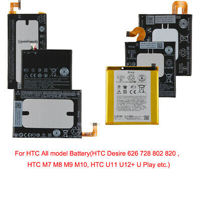 Replacement Battery For HTC Desire 626 728 802 820 M7 M8 M9 M10 U11 U Play @5H