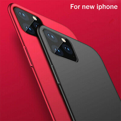 For iPhone 11 Pro Max Case 11 Pro Ultra Slim Matte Hard PC TPU Shockproof Cover