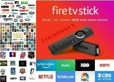 Amazon Fire Stick Alexa HD 2019 Movies| Sports⚽️|TV Shows📺|Kids👶|UK
