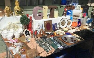 Mixed Job Lot Car Boot Fair Sale Stock Due To Retirement Some Damaged Old + New