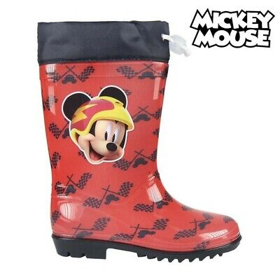 Kinder Gummistiefel Mickey Mouse 73486 Rot