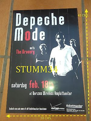 Depeche Mode-The Bravery_Touring The Angel_Poster  2006 Rare!!!