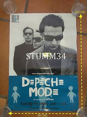 Depeche Mode_The Bravery_Touring The Angel_Barcelona_Poster  2006 Rare!!!