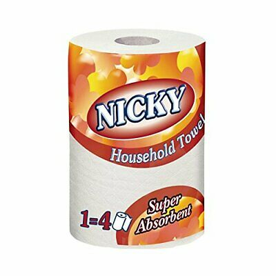 Sofidel AG155 Nicky Jumbo Kitchen Towel, 2-Ply (Pack Of 12)