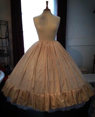 Ex Theatre Heavy Victorian Style Petticoat, Freesize Up To Size 26
