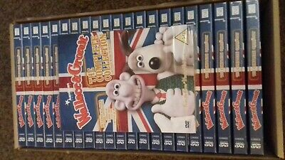 23 X Wallace & Gromit Complete Collection - Dvd - New Sealed - Joblot