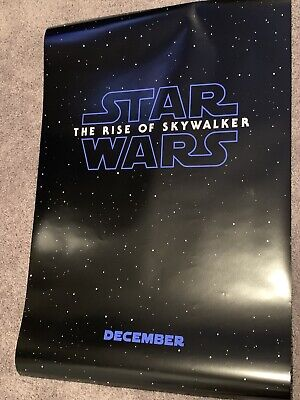 Star Wars Rise of The Skywalker Teaser D/S Double Sided Movie Poster 27x40