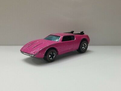 "1969 Hot Wheels Redline "" Xploder "" Pink ""Rare!!!"""