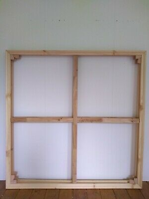 2 New 46inch/117cm canvas stretcher bar wooden frames (38mm thick)