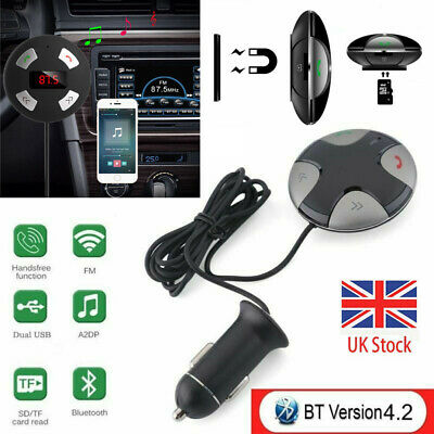 Wireless Blue tooth Handsfree Car Kit FM Transmitter MP3 Player USB Charger AUX
