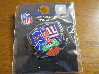 Buffalo Bills AT VS New York Giants Game Day Pin September 15, 2019 Metlife