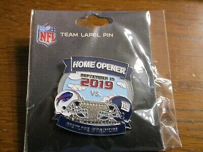 Buffalo Bills AT VS New York Giants Game Day Pin September 15, 2019 Metlife PSG