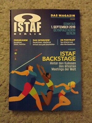 2019 ISTAF Berlin Programme: IAAF: Athletics/Track & Field IAAF World Challenge