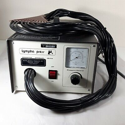 Vintage Lympha Press 12-Tube Sequential Pressure Compression Device