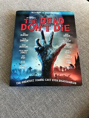 The Dead Don't Die (Blu-ray, Digital) BRAND NEW w/slipcover
