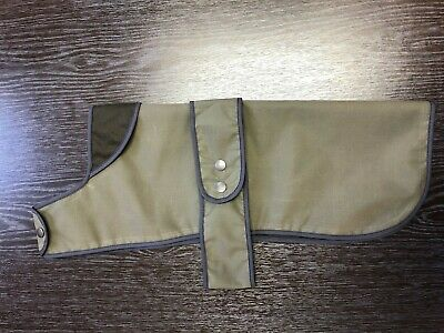 New Waxed Cotton Dog Puppy Coat Jackets Soft Lining Warm Waterproof ALL SIZES