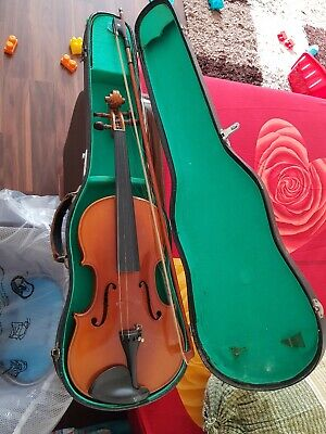 Oypla Full Size 4/4 Acoustic Violin Set