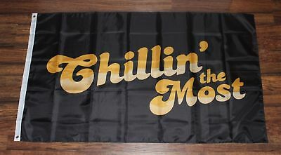 New Chillin/' the Most Banner Flag Kid Rock Chilling Black