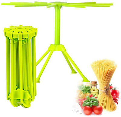Kitchen Pasta Drying Rack Folding, iPstyle Spaghetti Drying Rack Noodle Stand 10