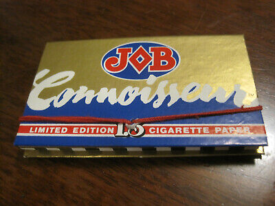 Vintage JOB Connoisseur 1.5 rolling papers RARE 1970s NOS Limited Edition
