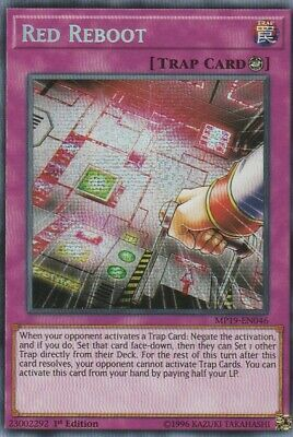 Yugioh Red Reboot MP19-EN046 Prismatic Secret Rare 1st Ed Edition