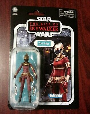 Hasbro Star Wars Vintage Collection The Rise Of Skywalker Zorii Bliss Episode 9
