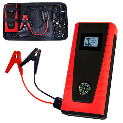 E POWER Bank Portable Vehicle Jump Starter Car Battery Charger Torch Lithium 12V