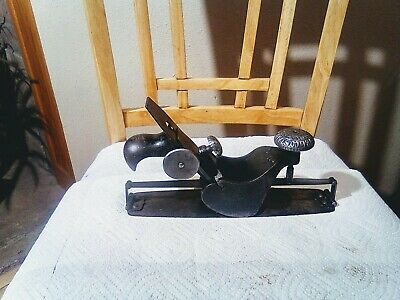 Antique Stanley No. 113 Circular Plane Type 1, (1877-1880) Old Woodworking Tool