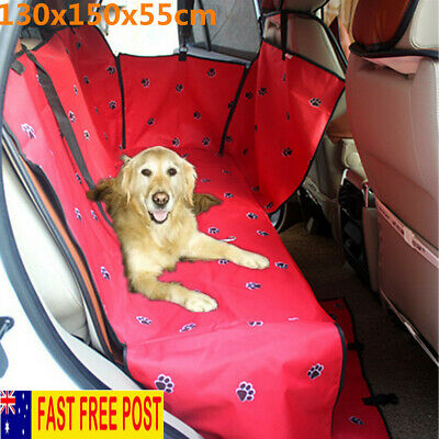 Dog Cat Waterproof Car Seat Pet Cover Rear Back Mat Cushion Protector Hammock