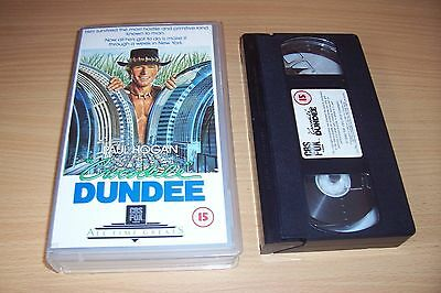 croodile dundee vhs