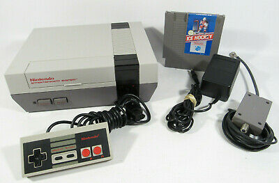 Original Nintendo System NES Console System Cleaned Tested - Cleaned w/ Game