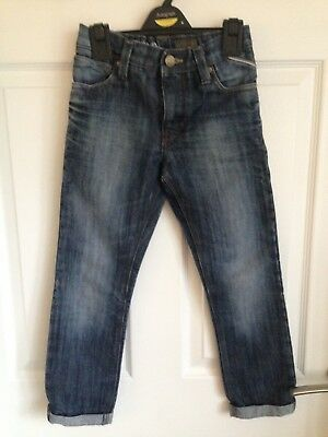Kids Blue Next Regular/Slim Fit Jeans  - Age 7yrs