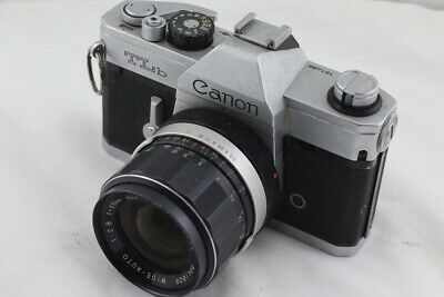 Canon TLb SLR Film Camera - With Lens