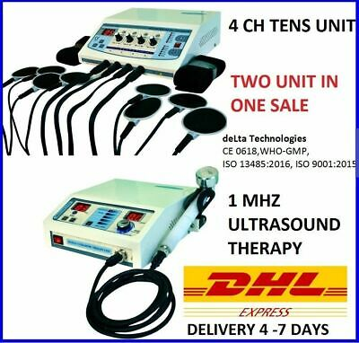 Brand Ultrasound Therapy Physiotherapy Electrotherapy Machine Pulse Massage