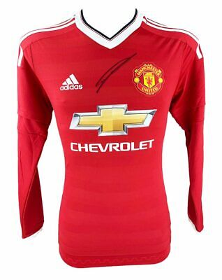 Signed Chris Smalling Shirt - Manchester United Autograph + *Certificate*