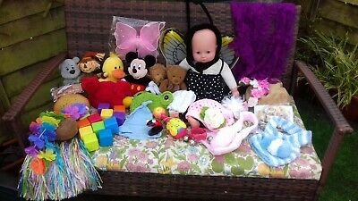 Photography props...large assorted selection. Doll not included