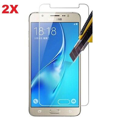 For Samsung Galaxy J3 2017 Tempered Glass Screen Protector - Clear