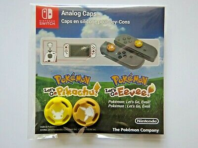 Nintendo Switch - Pokémon Let's Go, Pikachu / Évoli - Analog Caps