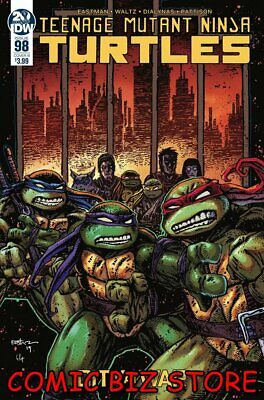 Teenage Mutant Ninja Turtles #98 (2019) Eastman Variant Cover B Tmnt Idw Comics