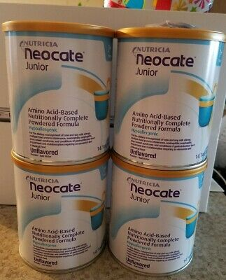 NEOCATE JUNIOR, Unflavored (Case of 4 Cans)**USPS PRIORITY **FREE SHIPPING**