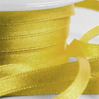 Gold Satin Ribbon. Suitable For All Occasions.