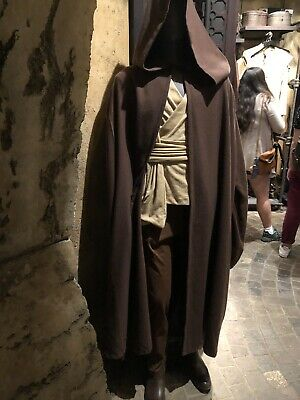 Disneyland Disney Parks Star Wars Galaxy's Edge Jedi Robe Brown Costume Cosplay