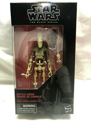 Star Wars Black Series Hasbro 6 in Battle Droid Action Figure in Box In Stock!